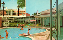 ramada_inn_mobile_AL (it's better than bad) Tags: pictures travel water pool architecture swimming swim vintage photography hotel photos motel roadtrip retro swimmingpool photographs 1950s postcards americana 1960s oldphotographs oldpictures googie 20thcentury bathingsuit vintagepostcards