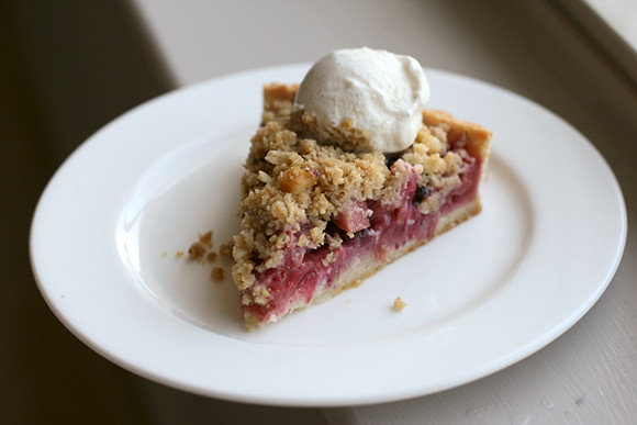 Rhubarb-Berry Tart