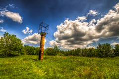 Abandoned (Miroslav Petrasko (hdrshooter.com)) Tags: tower abandoned canon military sigma lookout slovensko slovakia base bratislava hdr topaz 18200mm photomatix 450d opustena vojenska zakladna