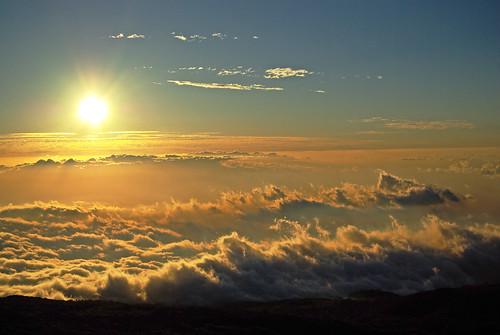 フリー写真素材, 自然・風景, 空, 雲, 夕日・夕焼け・日没, ハワイ州,