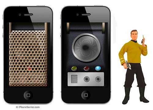 Star Trek Communicator App for iPhone