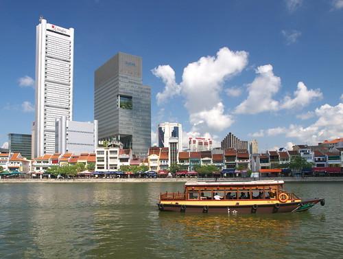 新加坡河的景觀