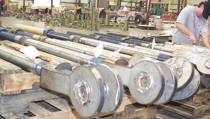 Rods and Clevises for a Natural Gas Combined Cycle Facility