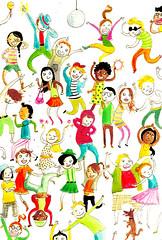 Kinderdisco! (Ineke Goes) Tags: party kids children disco dance kinderen feestje