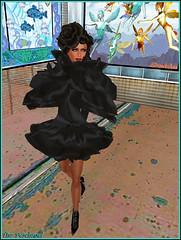 Mandarine Scofield (Tim Deschanel) Tags: life sea portrait woman collage mandarine tim bright femme avatar karen exhibition sl exposition enzo second soire thor tempest shanti ashanti numrique deschanel starlight photocomposition scofield plateforme karenc laplateforme ozsvar shantidas