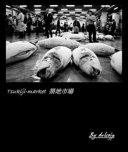 東京 築地市場 Tsukiji-market