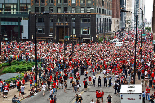 Chicago Blackhawks Rally 2010