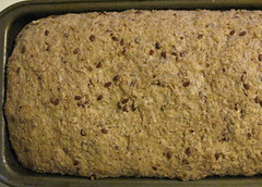 Unbaked loaf (Arwyn J.M.) Tags: food baking recipes flax baked wholewheat flaxseed groundflax