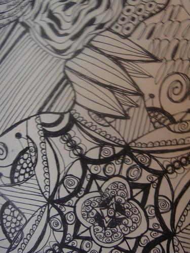 Zendoodle closeup