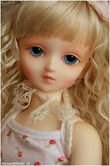 My first face-up (MiriamBJDolls) Tags: doll bjd superdollfie volks mika msd rosaura firstfaceup