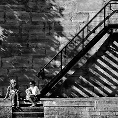 chatting (fifich@t / Franise / off) Tags: street shadow people blackandwhite bw paris france seine stairs square women sitting graphic candid streetphotography bank nb ombre grayscale chatting rue quai femmes bavardage blackdiamond greyscale carr escaliers copyright squarepicture allrightsreserved classicbw blackwhitephotos parisinblackandwhite formatcarr flickraward infinestyle copyrightallrightsreserved artlegacy tousdroitsrservs blackwhiteurban nikond300 nikkor1685vr dragondaggerphoto blackisthecolour bankoftheseine daarklandsexcellence finestimage 4tographie blackdiamondplatinumgallery inspiredchoice pinnaclephotography featuredfrontpagewinners explore3652010june14 lightroomps fifichat1 frs fificht frs