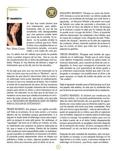 Revista Salmuera 7: El recetario