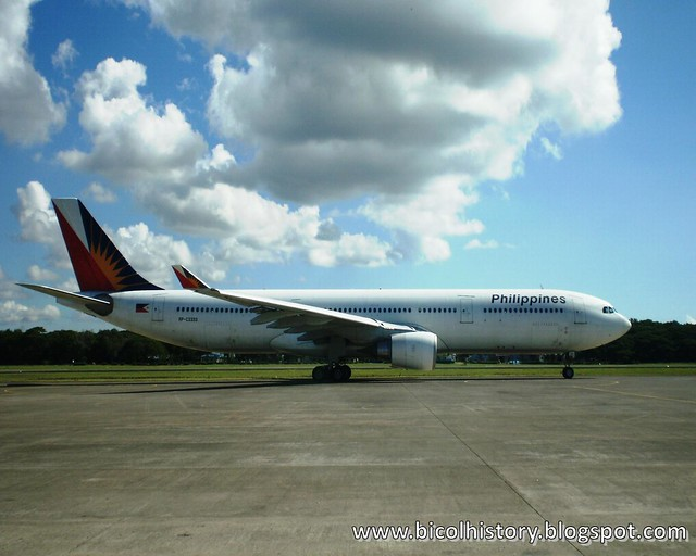 Philippine Airline at Puerto Princesa Airport