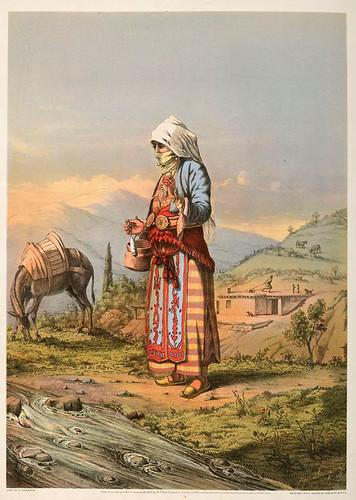 001-Campesina armenia-The oriental álbum 1862- J.H. Van Lennep