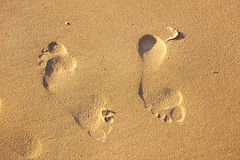 Huellas (Juan Antonio Cap) Tags: beach strand pie foot sand track pattern background playa surface arena textures galicia pied plage  vacaciones fondo spiaggia texturas piede piste sabbia impronta able superficie huella fus  patrn plaa   piasek       lad  fusabdruck pieszo