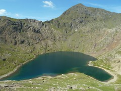 Glaslyn with the summit of Snowdon Photo