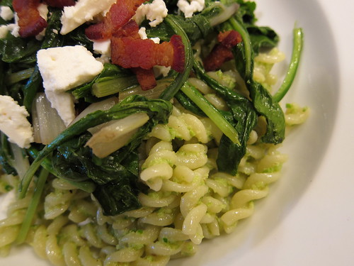 Greens and Scape pesto
