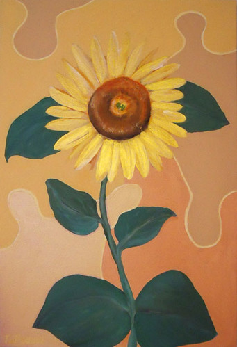 Talidari painting - Sunflower