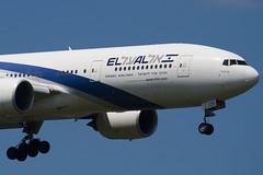 4X-ECD - 33169 - El Al Israel Airlines - Boeing 777-258ER - 100617 - Heathrow - Steven Gray - IMG_4665