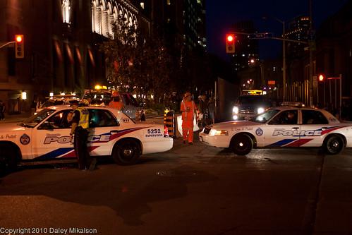 Police Traffic Jam