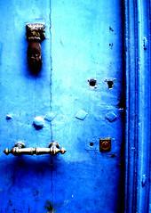 Porte 7 (fl000) Tags: door wood blue texture surface bleu porte bois