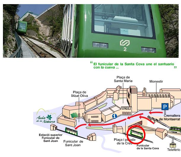 Funicular Santa Cova - Montserrat