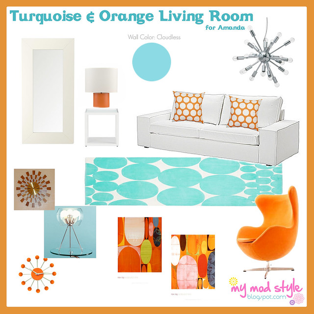 design board turq orange 2