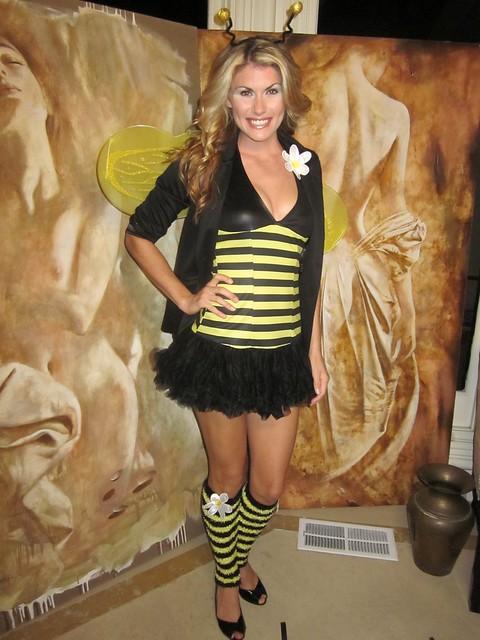 Lauren Slater, Bel Air Magazine Halloween Party