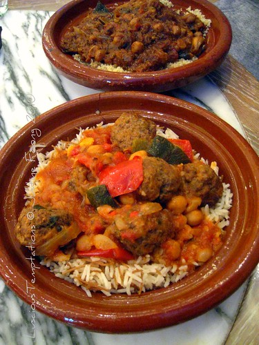 Kofte Tagine with Rice - Comptoir Libanais, Westfield