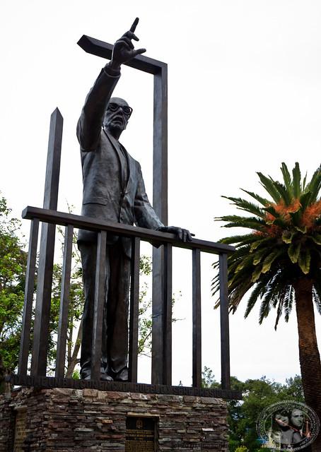 Statue Of Jose Maria Velasco Ibarra, Former President Of Ecuador