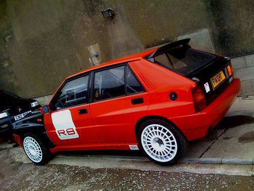 Lancia Delta Rally Car. lancia delta evo rally car