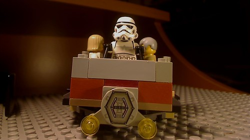 Tatooine Taxi - Front view