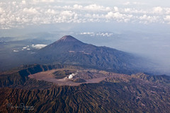 it's been a while (M3R) Tags: cloud mountain indonesia airplane landscape volcano smoke crater gunung brom