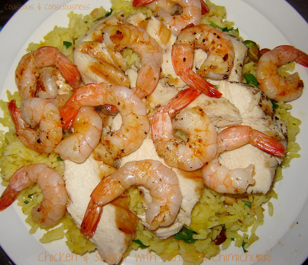 Chicken & Shrimp with Pancetta Chimichurri 2