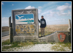 Padre Island Sign (thetravelman) Tags: nature outdoors texas padreisland padreislandnationalseashore padreislandsign