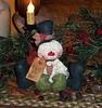 lindo boneco de neve (alinnerj) Tags: natal fuxico feltro pap molde duende passoapasso moldedenatal nataldefeltro