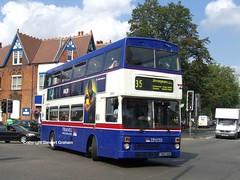3007 on loan to YW (MCW1987) Tags: wood travel west bus garage double deck mk2 loan moseley midlands metrobus twm yardley mcw 3007 mk2a f307xof
