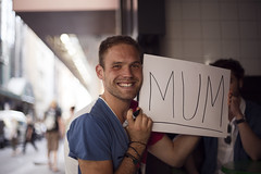 17/30 (Brendan_Timmons) Tags: street city portrait smile mom happy parents funny mother melbourne mum canon50mmf14 whatmakesyouhappy canon5dmkii