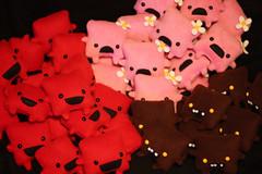 Last week's orders (Danielleorama) Tags: art toy plus supermeatboy