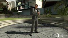 PlayStation Home: Platinum Suit