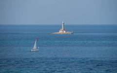 lighthouse - Porer (01) (Vlado Ferenčić) Tags: lighthouse porer rtkamenjak premantura istria islands istra adriatic sea seascape sailboat vladoferencic adriaticsea jadranskomore vladimirferencic hrvatska croatia