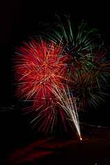 03 (morgan@morgangenser.com) Tags: pacificpalisaddes beach belairbayclub blue celebrate fireworks color iso100 july3rd loud nikon night ocean orange pch people red reflection special spectacular streaks timeexposire tripod yellow amazing