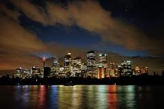 Sydney Colourful Skyline