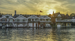 Henley on Thames ,riverbank (y.mihov, Big Thanks for more than a million views) Tags: river henley thames water walks walls englanduk europe england sonyalpha sightseeing travel trespass tourist sunset summer berkshire