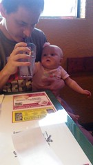 """Daddy and Dani Eat at Margarita's in Kansas City • <a style=""""font-size:0.8em;"""" href=""""http://www.flickr.com/photos/109120354@N07/35698347175/"""" target=""""_blank"""">View on Flickr</a>"""