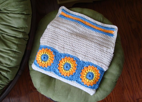 Crocheted Netbook Case 04