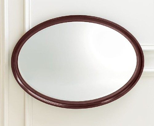 RESTORATION HARDWARE OVAL MIRROR