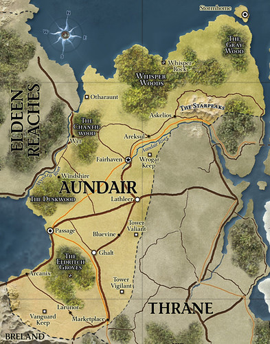 Map of Aundair