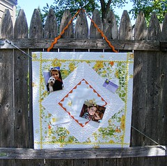 Quilted Bulletin Board