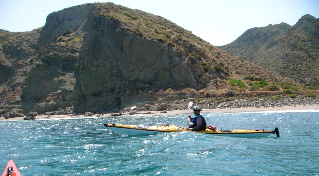 Cabo de Gata en kayak 583